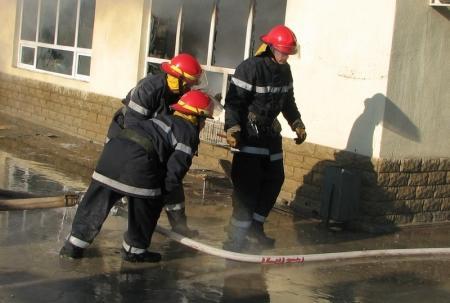 В отеле «Нурплаза» произошел пожар, эвакуировано 35 человек