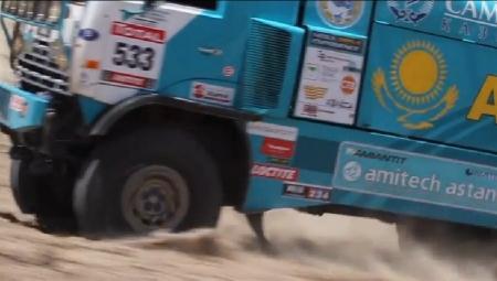 ВИДЕО После пятого этапа грузовик Артура Ардавичуса занимает пятое место в общем зачёте