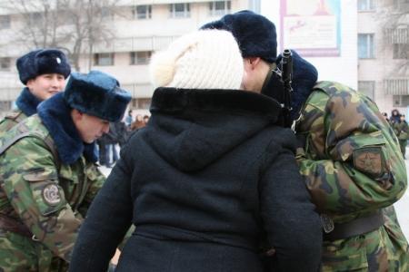 В войсковой части 6656 Актау приняли присягу на верность Родине