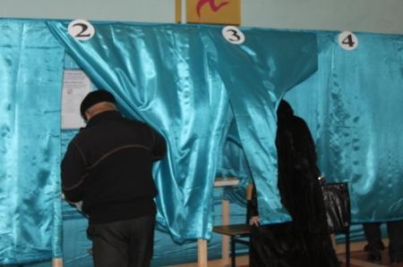 Фотопост. Выборы в Актау