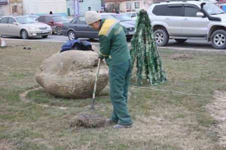 Сто пятьдесят работников цеха озеленения Актау остались без работы
