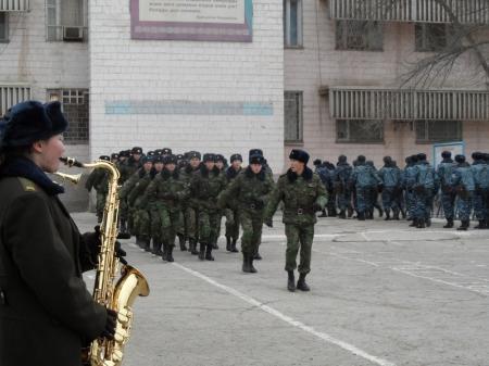 В Актау внутренние войска отмечают 20-летие своего образования