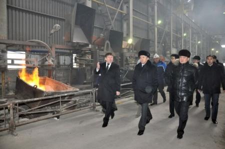 Бауржан Мухамеджанов посетил ряд предприятий в Мангистауской области