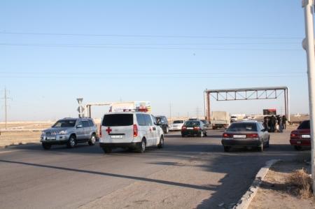 В Мангистау водитель джипа «Тойота» совершил дорожную аварию с тяжелыми последствиями и скрылся с места происшествия
