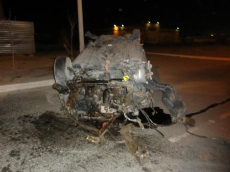 В ДТП на автотрассе в Мангистауском районе погиб водитель