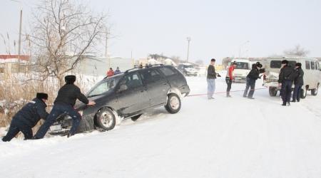 В Актау за последние дни в ДТП пострадали два человека