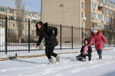 Фотопост. Зима в Актау