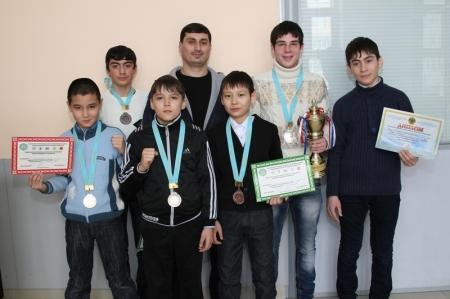 Актауские тайбоксеры завоевали шесть медалей на чемпионате Казахстана в Алматы