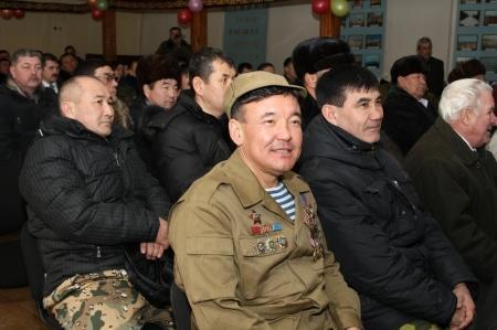 Сотрудники войсковой части № 3502  и «МАЭК-Казатомпром» провели встречу с актаускими воинами-интернационалистами