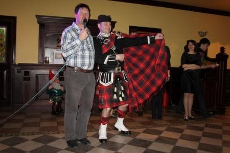 В Актау прошел благотворительный шотландский вечер