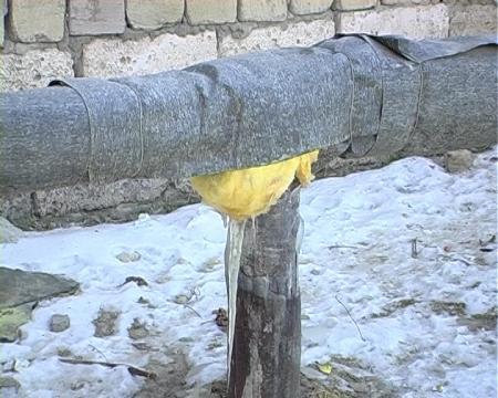 В поселке Умирзак Мангистауской области замерз водопровод