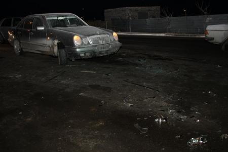 В Актау на прибрежной дороге произошло ДТП