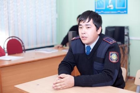 В средней школе №28 Актау прошел День Профессий