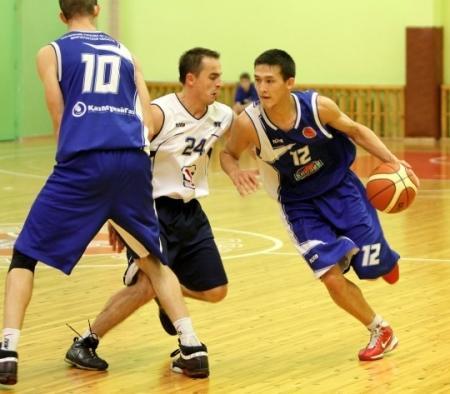 Актауский баскетбольный клуб «Каспий» разгромил «Алматы»