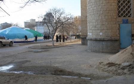 В Актау совершено разбойное нападение на кооператив собственников квартир