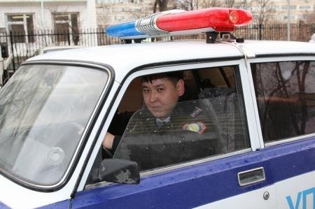 Два пьяных угонщика автомобиля задержаны участковым инспектором Актау
