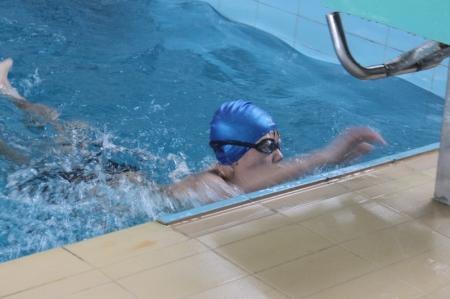 В Актау прошли соревнования по плаванию