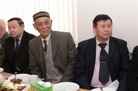 Начальник Мангистауской полиции встретился с ветеранами МВД