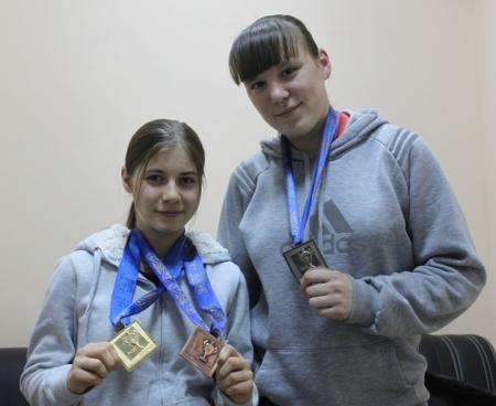 Мзия Цалоева и Ольга Сабельникова