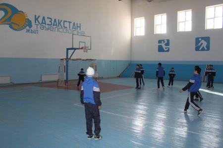 В поселке Жетыбай Мангистауской области открылся новый спортивный комплекс