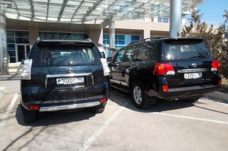 В Актау презентовали новый Toyota Land Cruiser 200