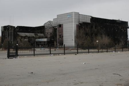 """АО РД """"КМГ"""": Сожженная во время беспорядков в Жанаозене гоcтиница «Аруана» восстановлению не подлежит"""