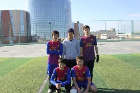 В Актау прошел турнир по мини-футболу среди юношей