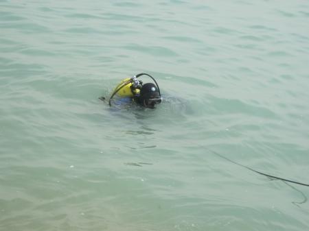В Актау свое первое погружение совершили молодые водолазы Облспасвода Мангистауской области