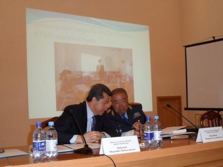 В УВД Актау обсудили преступность в общественных местах и на улицах