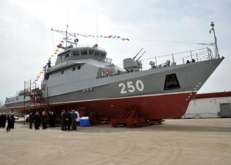 """В конце апреля, в год 20-летия казахстанской армии, состоится спуск на воду первого отечественного ракетно-артиллерийского корабля """"Казахстан"""""""
