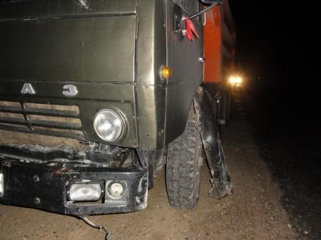 В Актау водитель «КАМАЗа» протаранил «Мерседес»