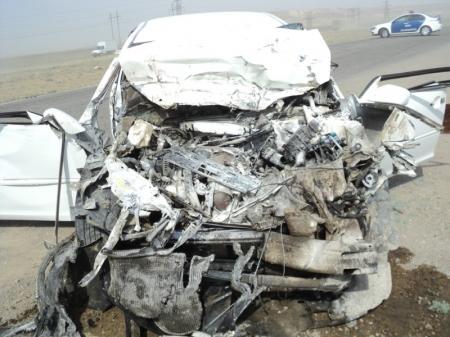 В дорожной аварии на автотрассе в Мангистау погибла женщина и ее грудной ребенок
