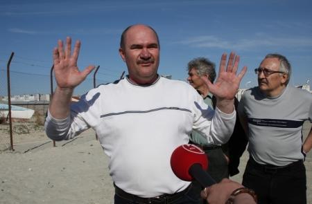 Актауских яхтсменов лишили возможности добираться к морю