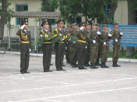 Военная полиция Вооруженных Сил Казахстана отметила 15 летие