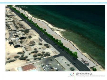 Чиновники Актау неохотно делятся с журналистами «Лады» информацией о строительстве на набережной города