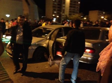 Очередная авария на перекрестке в Актау обошлась без тяжелых последствий