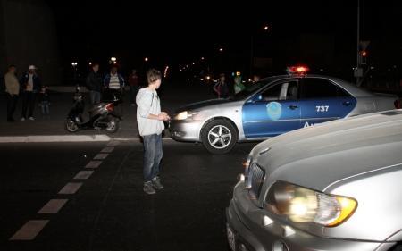 В Актау на перекрестке автомашиной «Фольксваген» был сбит мальчик на скутере