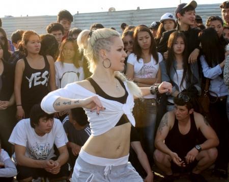 Танцоры Актау устроили «джем-сейшн», посвященный Международному дню танца