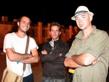 В Актау побывали европейские велотуристы, направляющиеся из Бангкока в Ниццу