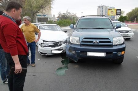 В четвертом микрорайоне Актау произошла очередная авария