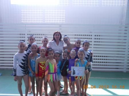 Актауские спортсменки выступили в чемпионате Атырауской области по художественной гимнастике