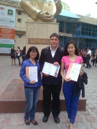 Студент из Актау занял второе место на республиканской олимпиаде дирижеров-хоровиков