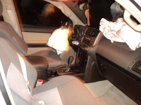 В дорожной аварии на автотрассе в Мангистау пострадала семья