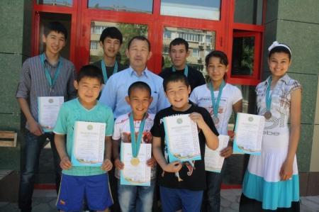Актауские спортсмены заняли первое место на чемпионате Актюбинской области по киокушинкай каратэ