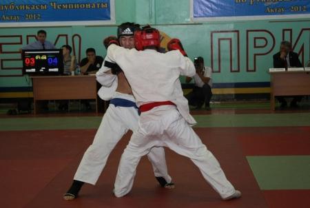 В Актау проходит чемпионат Казахстана по рукопашному бою
