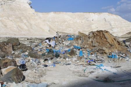Рейд по природным памятникам Мангистау совершили экологи-общественники