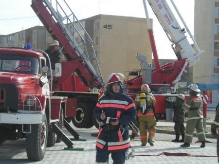 В Мангистау участились пожары в жилом секторе