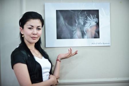 В Актау прошло открытие персональной фотовыставки Валерии Каратуновой