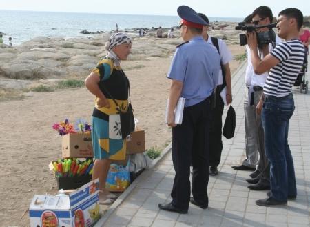 Акимат Актау продолжает работу по наведению порядка на пляжах