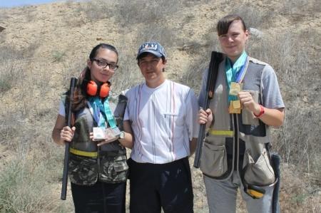 Мангистауские спортсменки Ольга Сабельникова и Мзия Цалоева вошли в сборную Казахстана по стендовой стрельбе